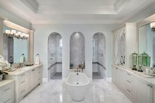 Mediterranean Interior - Master Bathroom Plan #1017-166