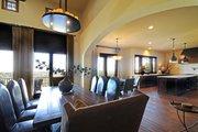Mediterranean Style House Plan - 4 Beds 4.5 Baths 4185 Sq/Ft Plan #935-4 Interior - Dining Room