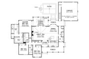 Country Style House Plan - 3 Beds 2.5 Baths 2262 Sq/Ft Plan #929-976 Floor Plan - Main Floor Plan