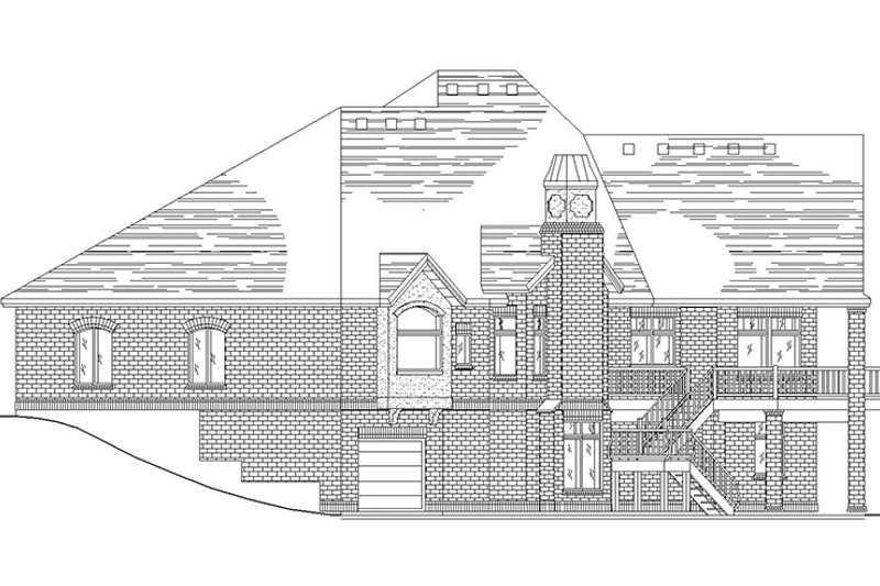 Traditional Exterior - Other Elevation Plan #945-64 - Houseplans.com