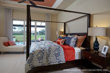 Mediterranean Interior - Master Bedroom Plan #930-457