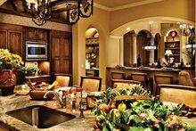 Architectural House Design - Mediterranean Interior - Kitchen Plan #930-440