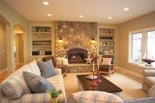 Craftsman Interior - Family Room Plan #928-21