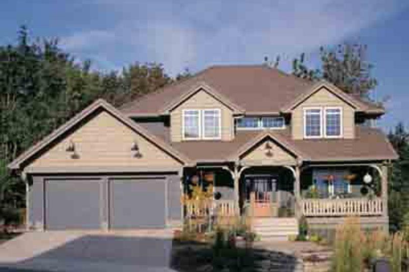 Home Plan - Craftsman Exterior - Front Elevation Plan #48-219