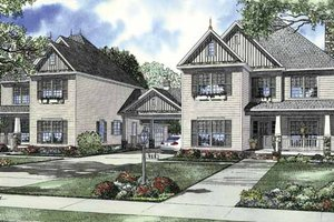 Home Plan - Country Exterior - Front Elevation Plan #17-2830