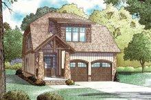 Dream House Plan - Craftsman Exterior - Front Elevation Plan #17-2221