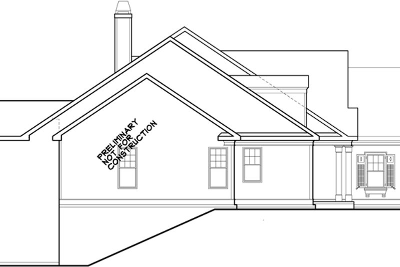 Ranch Exterior - Other Elevation Plan #927-261 - Houseplans.com