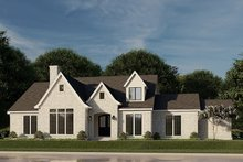 House Plan Design - European Exterior - Front Elevation Plan #923-186