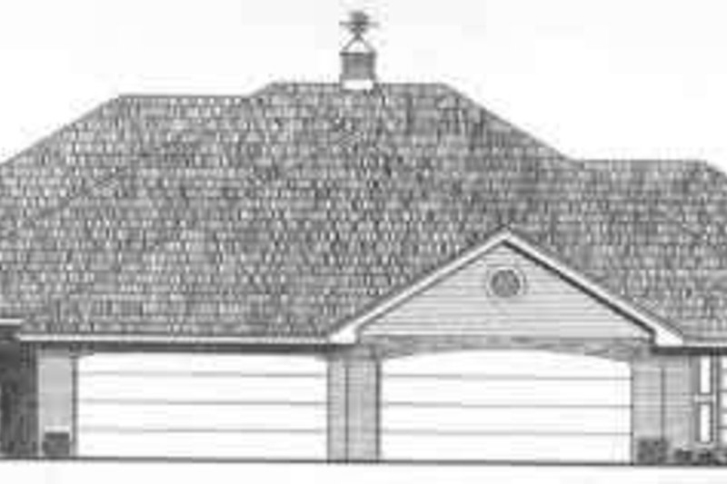 Traditional Exterior - Front Elevation Plan #310-446