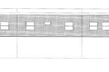 Architectural House Design - Contemporary Exterior - Rear Elevation Plan #117-853