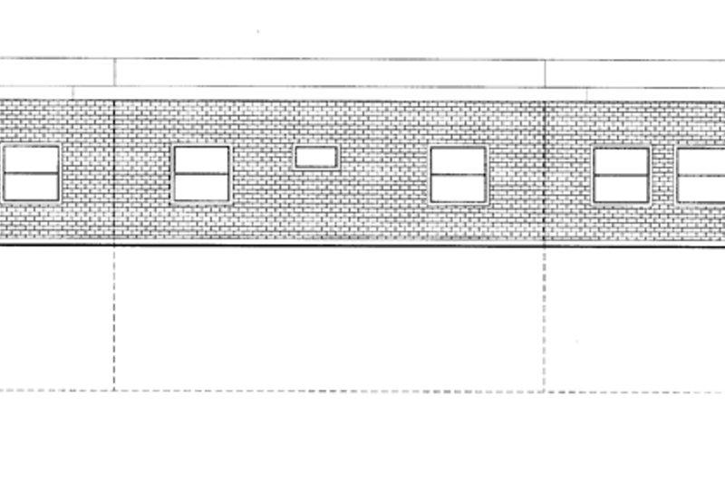 Contemporary Exterior - Rear Elevation Plan #117-853 - Houseplans.com