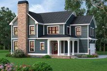 Dream House Plan - Traditional Exterior - Front Elevation Plan #419-312