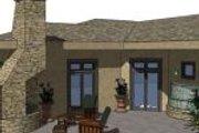 Adobe / Southwestern Style House Plan - 4 Beds 2.5 Baths 2743 Sq/Ft Plan #24-245 Photo