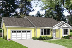 Traditional Exterior - Front Elevation Plan #116-280
