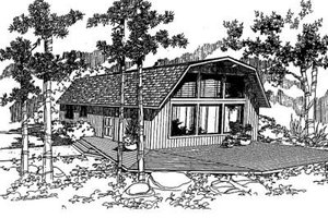 Traditional Exterior - Front Elevation Plan #60-326