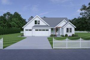 Farmhouse Exterior - Front Elevation Plan #1070-149