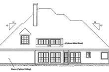 House Plan Design - European Photo Plan #20-286