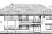 European Style House Plan - 3 Beds 2 Baths 2083 Sq/Ft Plan #18-9031 Exterior - Rear Elevation