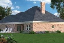 Home Plan - Ranch Exterior - Rear Elevation Plan #45-388