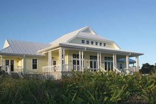 Dream House Plan - Country Exterior - Rear Elevation Plan #928-43