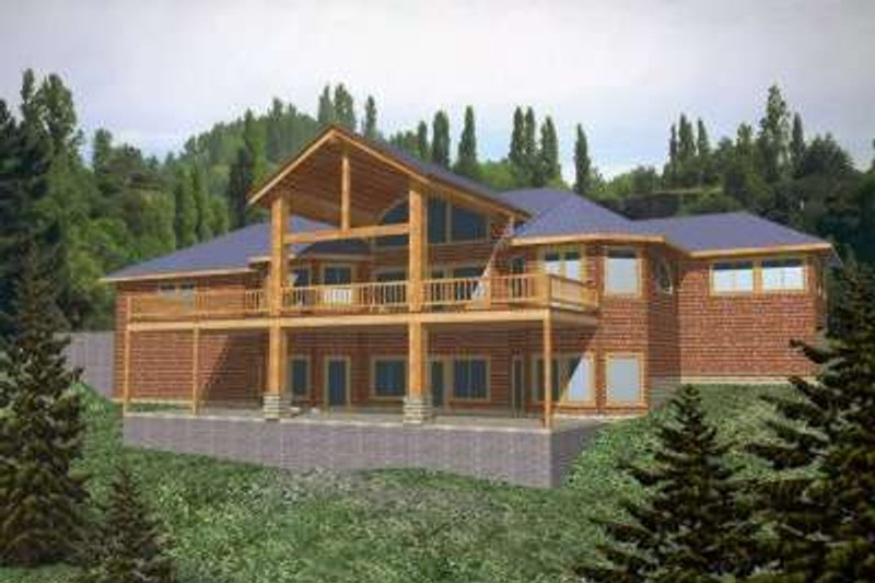 Traditional Exterior - Front Elevation Plan #117-344 - Houseplans.com