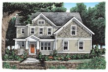 House Plan Design - Craftsman Exterior - Front Elevation Plan #927-902