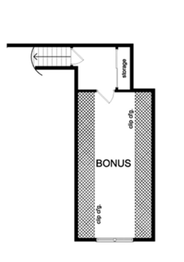 Ranch Floor Plan - Other Floor Plan Plan #1010-44