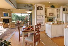 Architectural House Design - Mediterranean Interior - Kitchen Plan #930-326