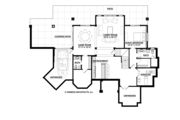Country Style House Plan - 3 Beds 3.5 Baths 3698 Sq/Ft Plan #928-269 Floor Plan - Lower Floor