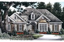 Architectural House Design - Country Exterior - Front Elevation Plan #927-739