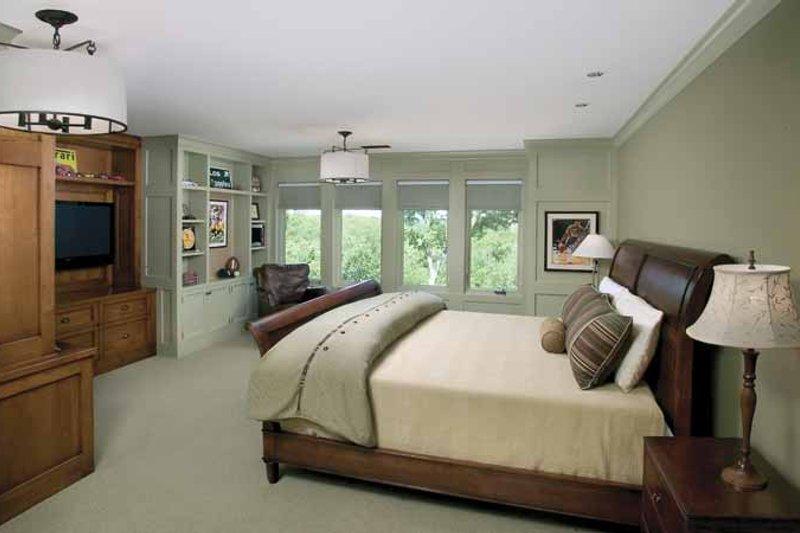 Country Interior - Bedroom Plan #928-183 - Houseplans.com