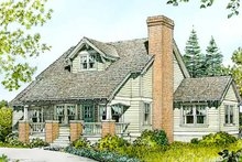Home Plan - Country Exterior - Front Elevation Plan #140-174