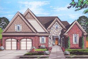 Home Plan - Cottage Exterior - Front Elevation Plan #46-865