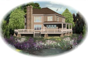 Traditional Exterior - Front Elevation Plan #81-13758