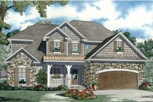 Architectural House Design - European Exterior - Front Elevation Plan #17-2932