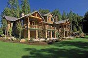 Contemporary Style House Plan - 4 Beds 4 Baths 7007 Sq/Ft Plan #951-2 Exterior - Rear Elevation