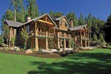 Dream House Plan - Contemporary Exterior - Rear Elevation Plan #951-2