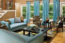 Craftsman Interior - Family Room Plan #929-422