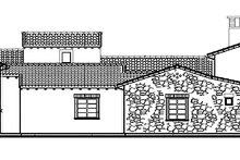Architectural House Design - Mediterranean Exterior - Other Elevation Plan #944-1