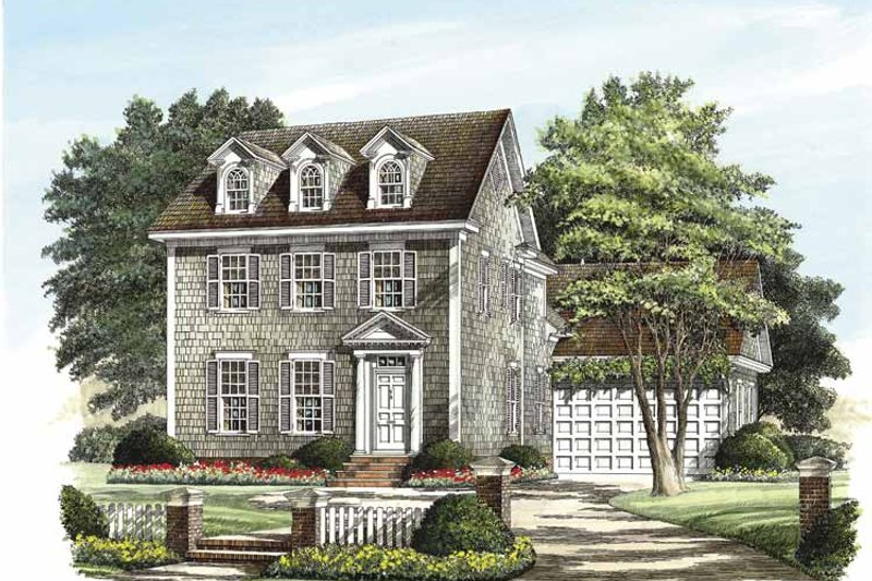 House Plan Design - Classical Exterior - Front Elevation Plan #137-318
