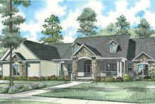 Craftsman Exterior - Front Elevation Plan #17-2771