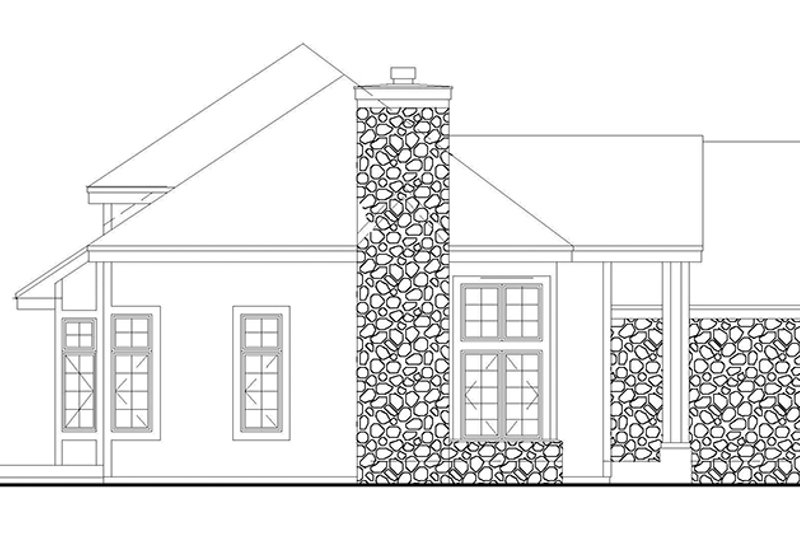 Traditional Exterior - Other Elevation Plan #320-528 - Houseplans.com