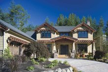 Architectural House Design - Traditional Exterior - Front Elevation Plan #48-877