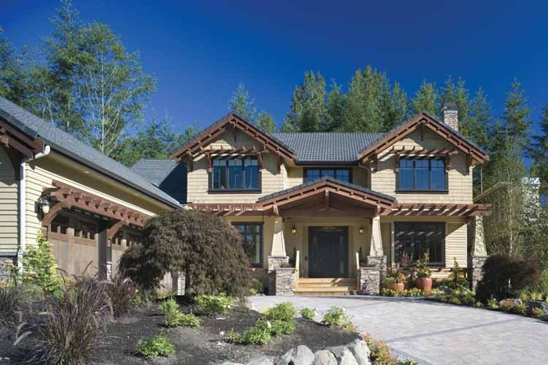 Dream House Plan - Traditional Exterior - Front Elevation Plan #48-877