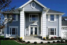Dream House Plan - Classical Exterior - Front Elevation Plan #320-509