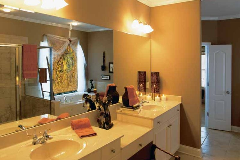 Classical Interior - Master Bathroom Plan #927-60 - Houseplans.com
