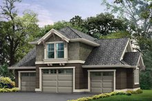 Craftsman Exterior - Front Elevation Plan #132-285