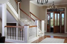 House Plan Design - Country Interior - Entry Plan #928-231