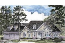 House Plan Design - Craftsman Exterior - Front Elevation Plan #316-270