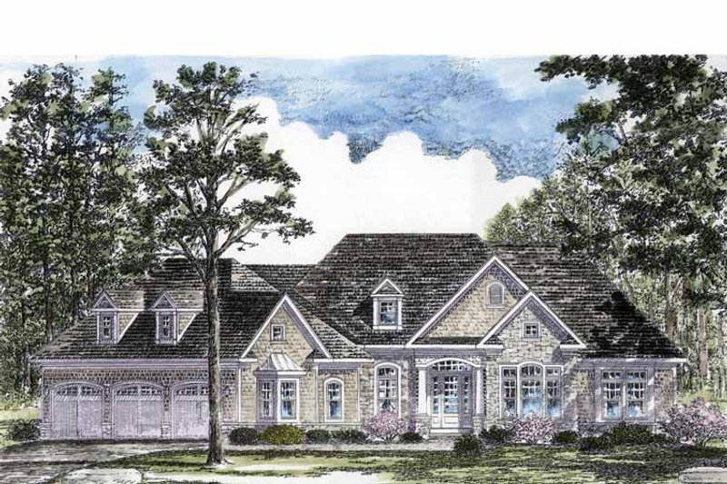 Craftsman Exterior - Front Elevation Plan #316-270 - Houseplans.com